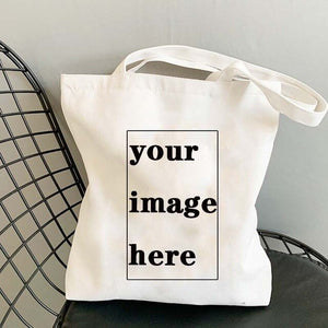 Custom Tote Bag Shopping Your Images Here