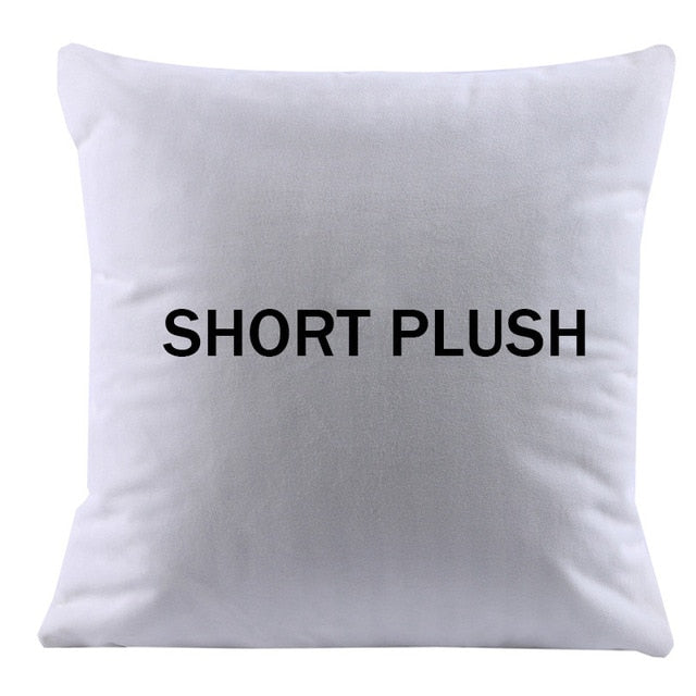 Soft White Cushion Cover For Thermal Transfer