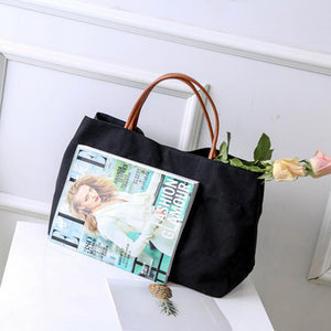 Large Shopping Bag Canvas Totes Beach Bag