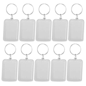 Lot of 10Pcs Keyring 3.3x5cm