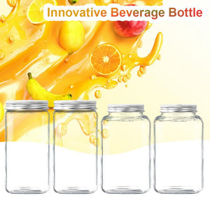 500ML Innovative Food Grade Plastic Beverage Bottle