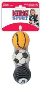 Sports Balls Assorted 3 Pack Small/Medium