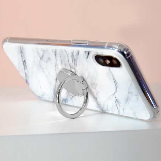 Iphone ring - Plata