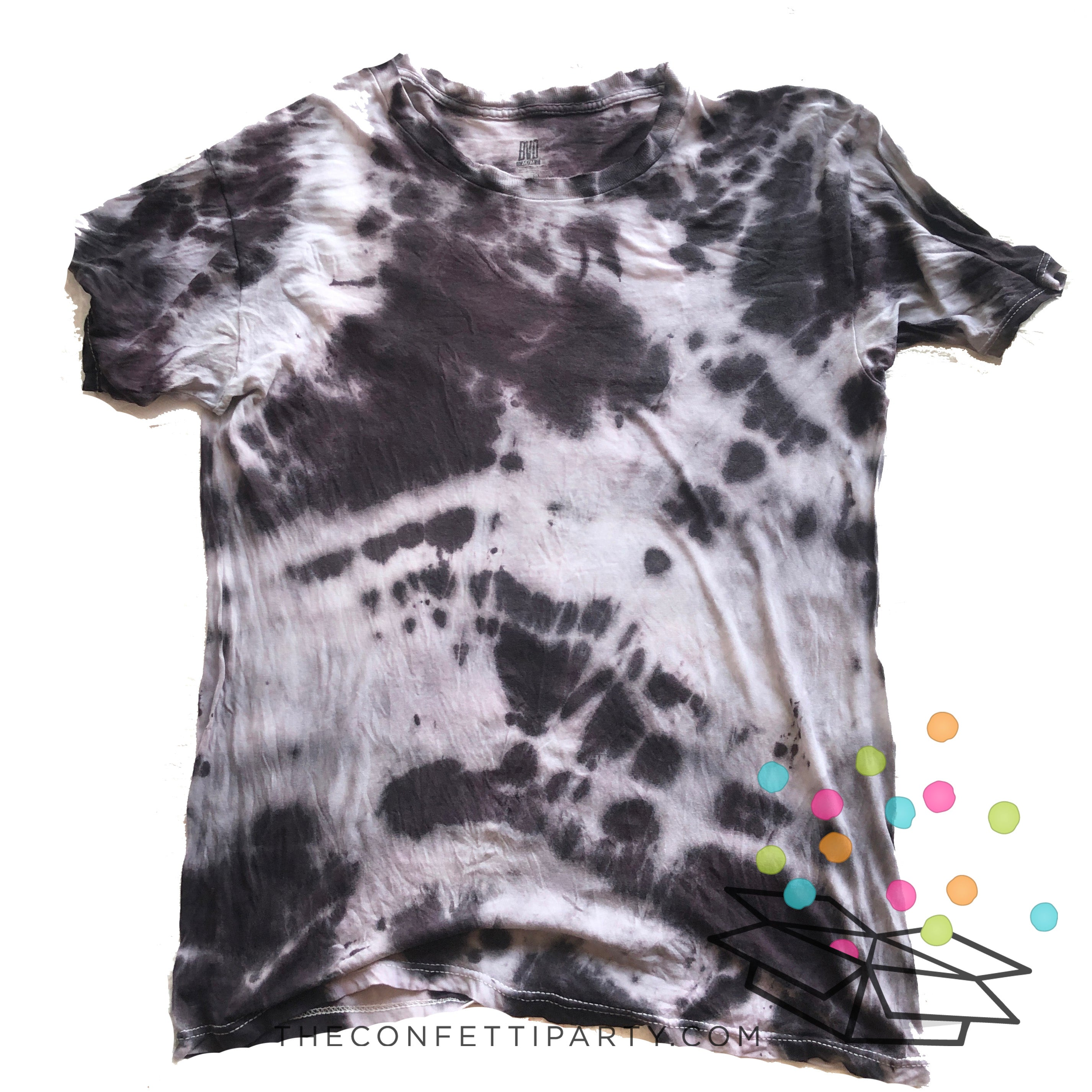 Tie Dye Party Kit - colores obscuros