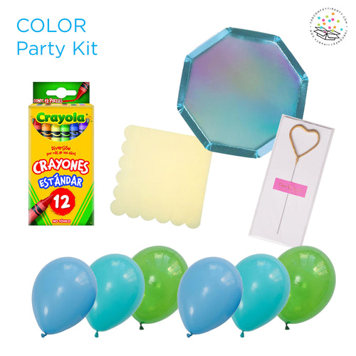 Color Party Kit - (8 personas)