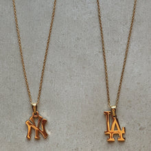 Load image into Gallery viewer, Gold NY Necklace