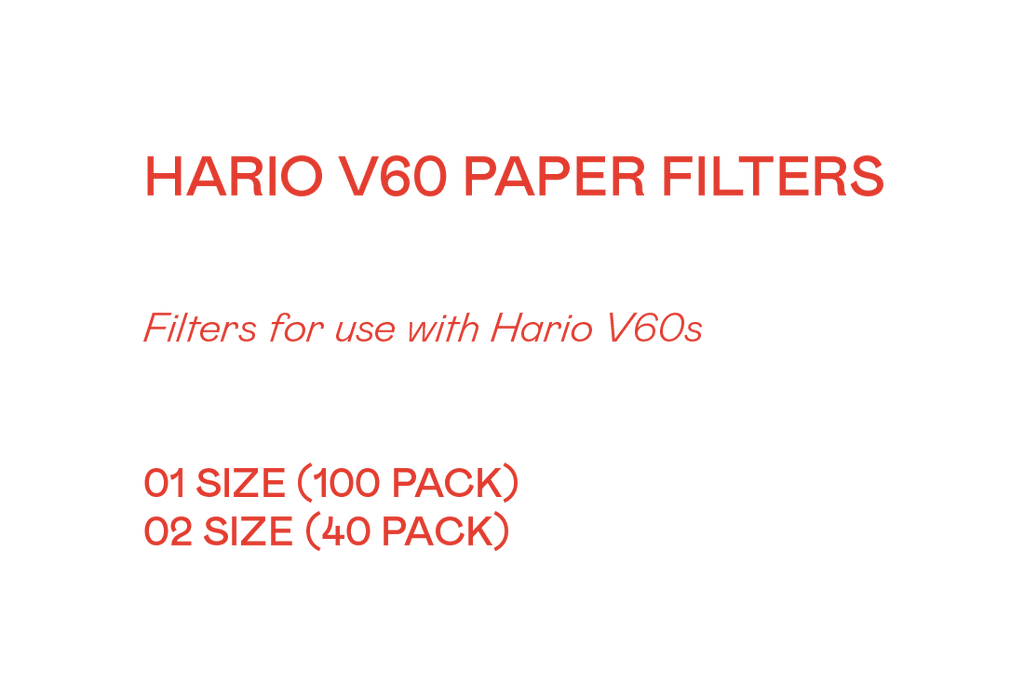Hario V60 Filter Paper - Grey Roasting Co