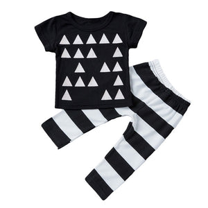 Newborn Baby Girls Clothes 2019 Autumn Baby Boys Clothes Hoodies+Pants 2pcs Outfit Suit Costume Infant Clothing For Baby Sets
