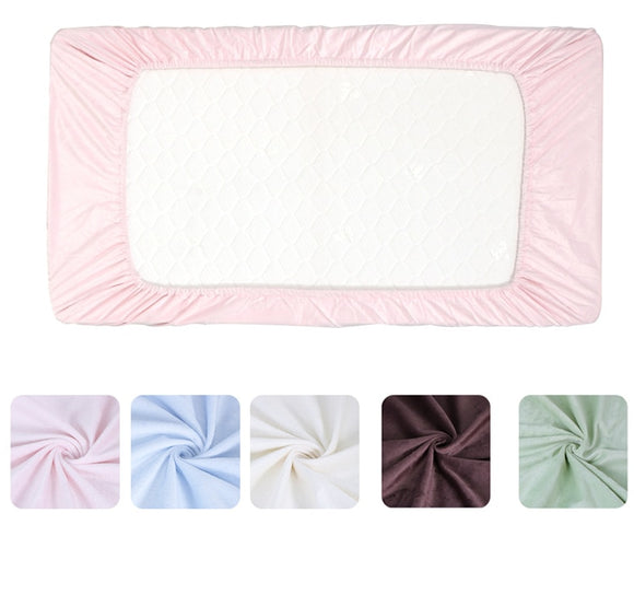 Plush soft  Fitted Sheet Nursery Baby Crib / Basket/ Mattress Cover Popular baby bedding