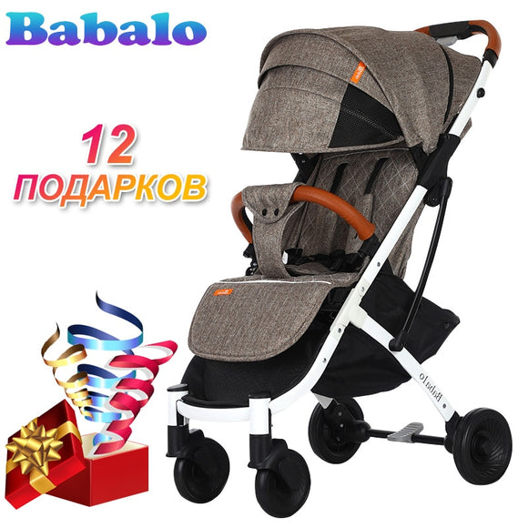 Babalo (YOYA PLUS 3 YOYA PLUS 2019) New style baby stroller light folding umbrella car can sit Baby carriage