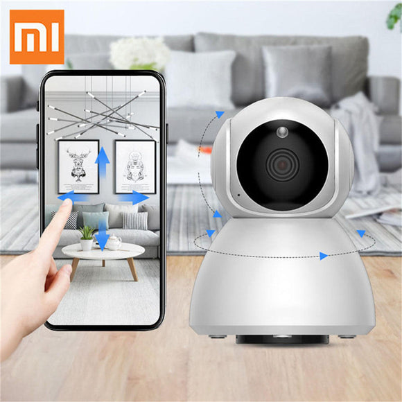 Xiaomi Xiavv Q8 HD 1080P 360° Panoramic IP Infrared Night Vision AI Detection Machine Panoramic Camera Baby Sleeping Monitors