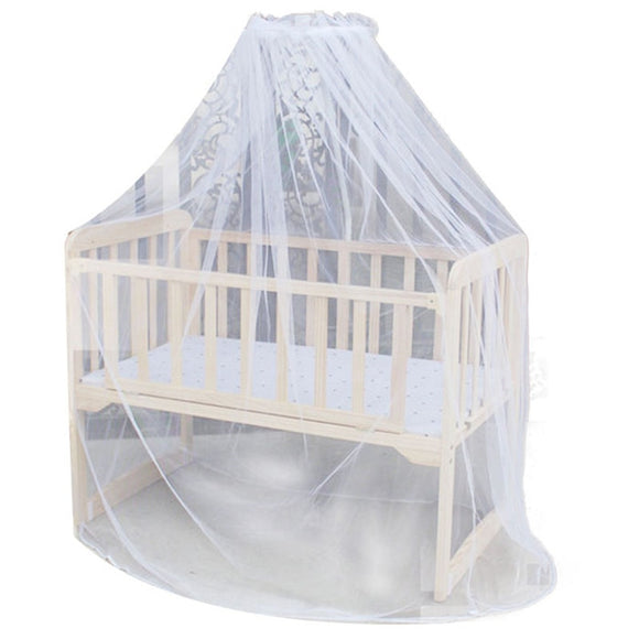 New Mosquito Bar Nursery Baby Cot Bed Toddler Bed Or Crib Canopy Home Mother Mosquito Net White