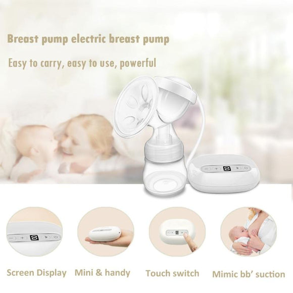 Electric Breast Pump Portable Automatic  Maternity Postnatal Supplies Milk Pumps Kit Electric Breast Pump Feeding Bottle