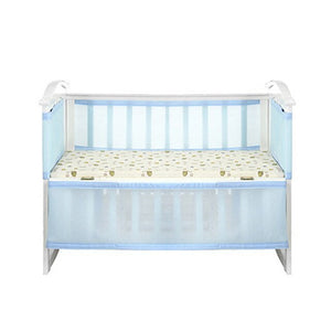 Newborn Collision-Proof Baby Nursing Safety Nursery Bedding Polyester Fiber Guardrail Crib Bumper Kids Breathable Detachable
