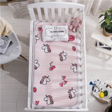 Boys Girls Bedding Cotton Blanket Infant Cartoon Portable Nest Removeable Cushion Newborn Cotton Pad For 0-24 Months
