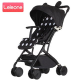 New Arrival Portable Baby Stroller 6.5KG Lightweight Newborn Babies Pushchair Foldable Travel Pram For 0-4Years Kids Can Sit&Lie
