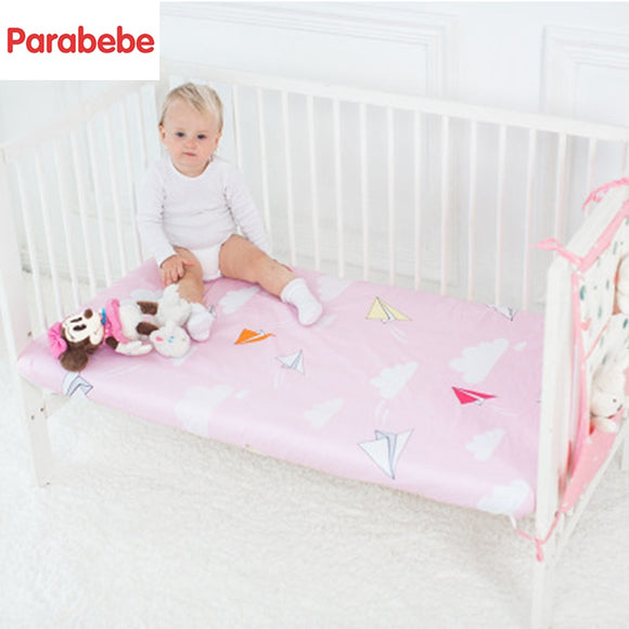 Cotton baby bedding bed Environmental printing and dyeing  Newborn cotton  sheets