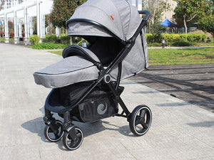 Baby Stroller Portable High Position Pram Spacious Buggy Strollers For Baby European Standard Pushchair
