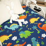 baby sheets cotton children kids sheets for baby bed newborn infant boy girls bedsheet large small size bedding 130*90CM