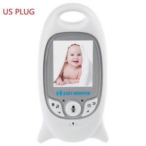 Infant Wireless Video Baby Radio Babysitter Digital Baby Sleep Monitor Audio Night Vision Temperature Monitoring Radio Nanny