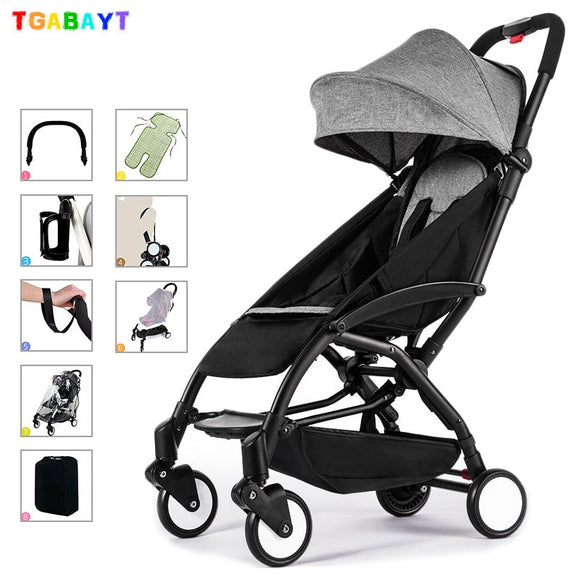 Original yoya lightweight stroller can sit&lie 175 degree folding umbrella trolley ultra-light baby car portable on the airplane