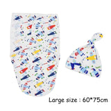 2Pcs/Set Muslin Baby Swaddle Diaper 100% Cotton Infant Newborn Thin Baby Wrap Envelope Swaddling Swaddleme Sleep Bag Sleepsack