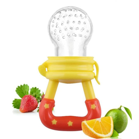 Oral Care 4-12M 1PC Baby Girl Teether Nipple Fruit Food Mordedor Bite Silicone Teethers Safety Feeder Bite Food Nipple Teether