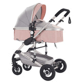 Multifunctional Baby Stroller 3 in 1 foldable stroller baby buggy Lightweight Portable Travelling Pram baby pushchair