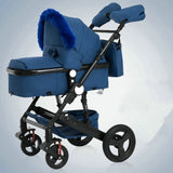 2019 Baby Stroller 2 in 1 Stroller Bidirectional Buggy Lightweight Pram Quality Shock Absorber Baby Trolley