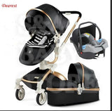 Free Shipping Aulon/Dearest Luxury Baby Stroller 3 in 1 High land-scape  Fashion Carriage European design Pram  on 2019