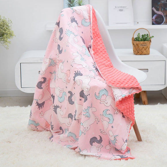 Baby Blanket Newborn Cotton Soft Animal Kids Blankets Newborn Bedding Swaddle Infant Wrap Bath Towel Girl Boy Stroller Cover