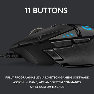 Logitech G502 HERO High Performance Gaming Mouse