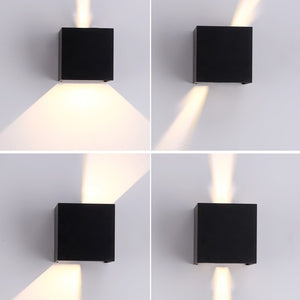 12W LED Wall Light Outdoor Waterproof Decoration Lighting Lamp IP65