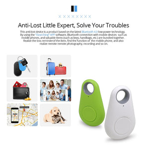 Smart Alarm Anti-lost Device Bluetooth Tracker Key Locator