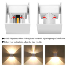 Load image into Gallery viewer, 12W LED Wall Light Outdoor Waterproof Decoration Lighting Lamp IP65