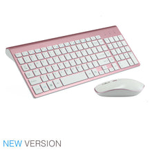 Load image into Gallery viewer, 2.4G Wireless Silent Keyboard and Mouse Combo Set