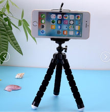 Load image into Gallery viewer, Phone Holder Flexible Octopus Tripod Bracket Selfie Expanding Stand