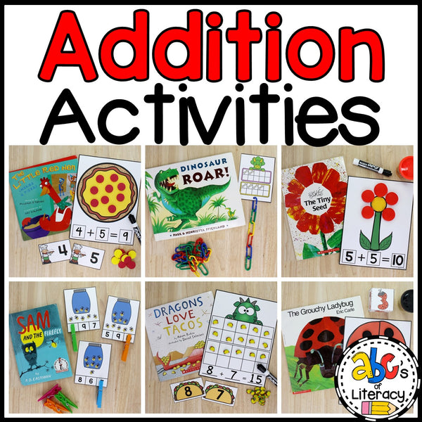 Addition Activities Bundle