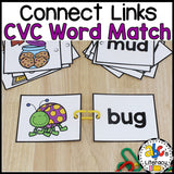 Connect Links CVC Word Match