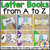 Letter Books from A to Z