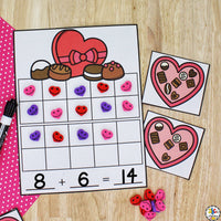 Valentine Morning Tubs for 1st Grade