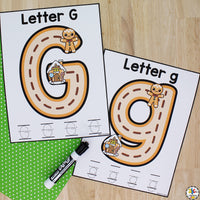 Gingerbread Man Alphabet Activities