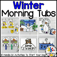 Winter Morning Tubs