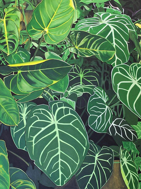 Tropical leaves (SOLD)