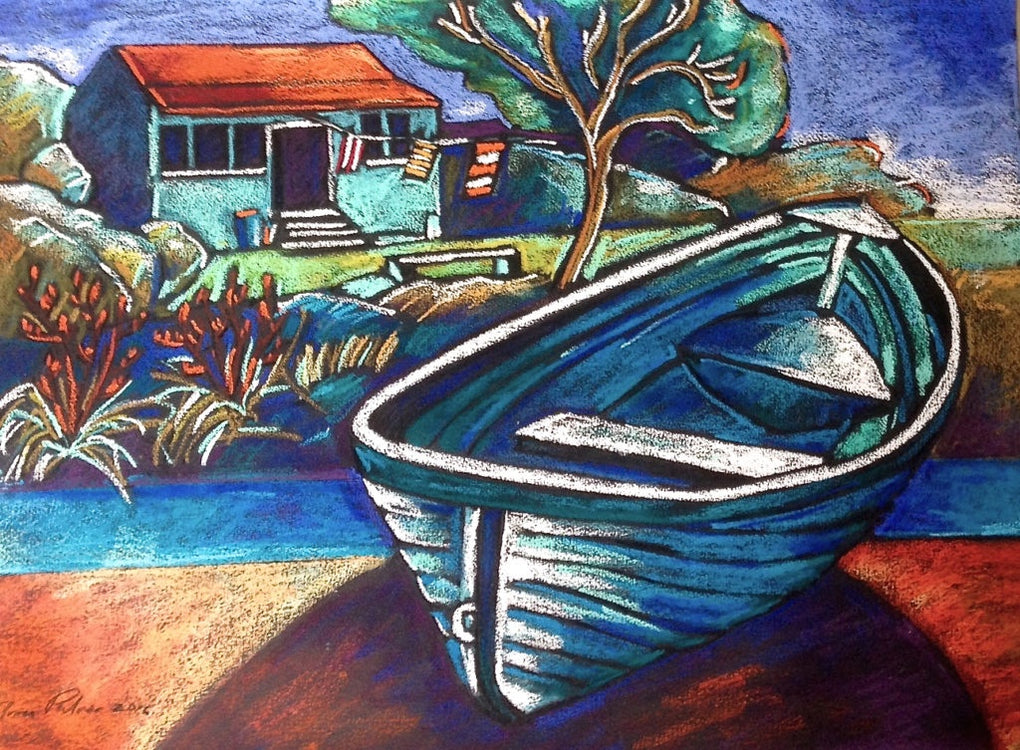 Dinghy, Rangitoto (SOLD)
