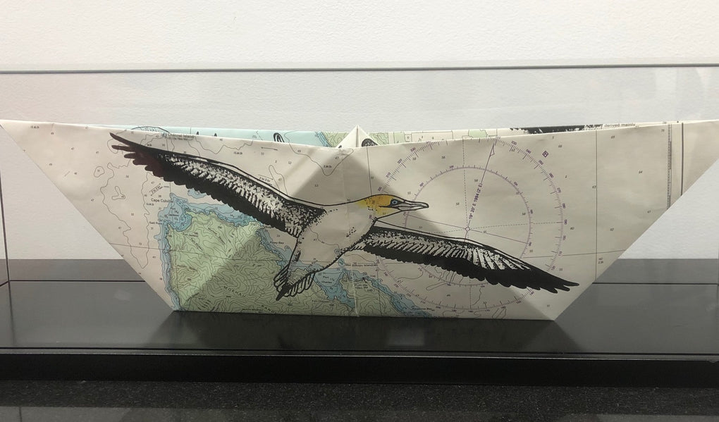 Gannet and Lighthouse Keeper - Paper Boat