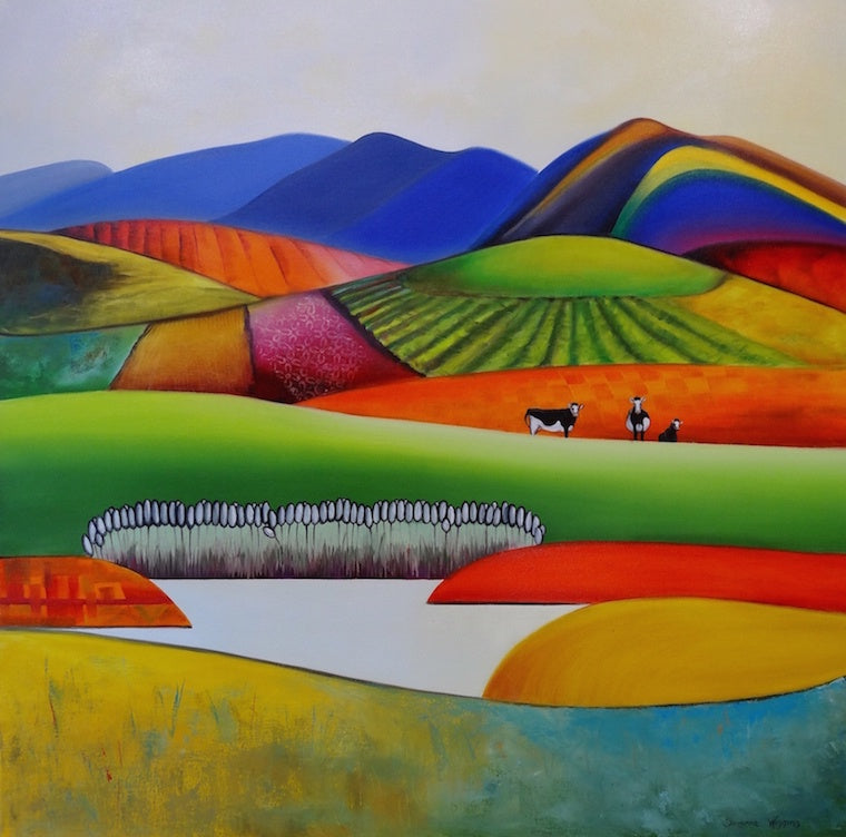 Rural Rainbow (SOLD)