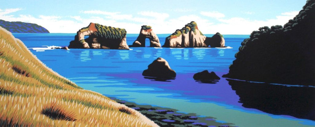 Mitre Rocks - Tolaga Bay