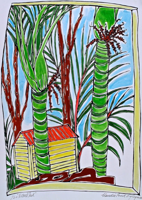 Nikau and Shed