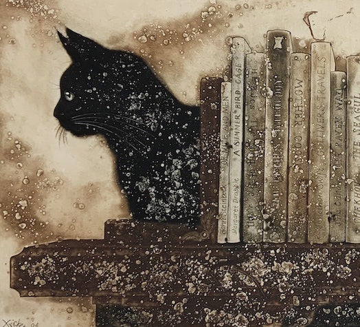 Literary Cats (SOLD)